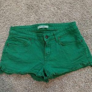 Cut Off Shorts in a Fun Color